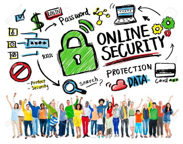 Online Security Protection Internet Safety People Celebration Co