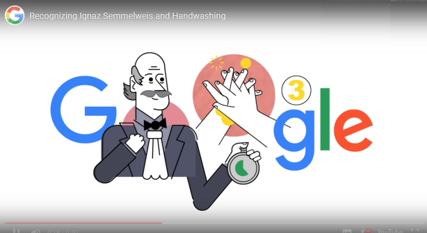 washinh hands smartphonegreece