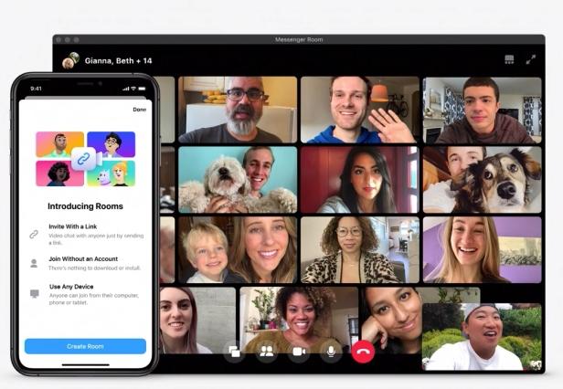 fb-messenger-rooms-Smartphonegreece