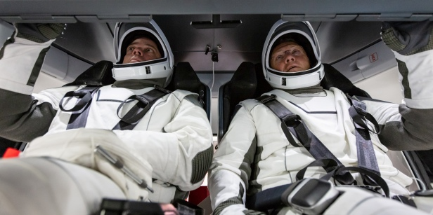CCP Astronauts Bob Behnken and Doug Hurley - SpaceX Training