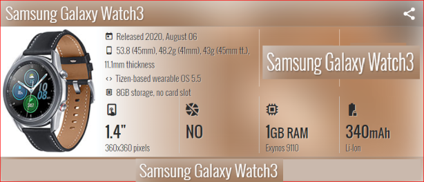 Samsung Galaxy Watch 3 Smartphonegreece 2