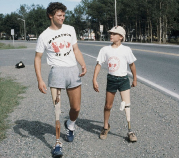 Terry Fox has been inducted into the Medical Hall of Fame