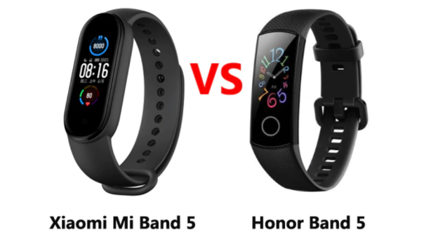 mi band 5 vs honor band 5 Smartphonegreece