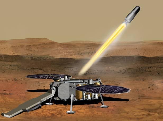 NASA Mars Sample Return Smartphonegreece