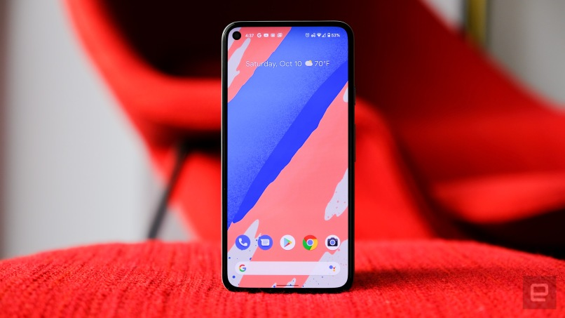 Google Pixel 5 Smartphonegreece