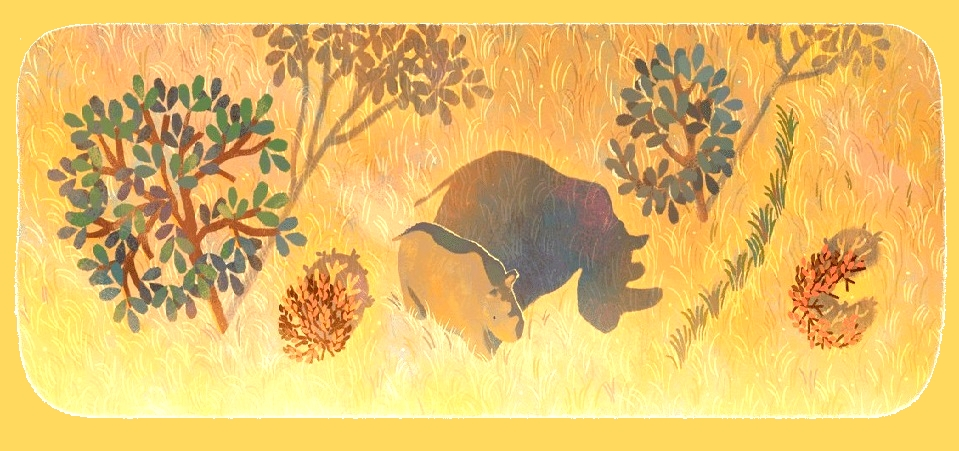 sudan-the-last-male-northern-white-rhino-doodle