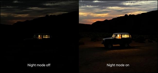 iPhone-night -mode-Smartphonegreece