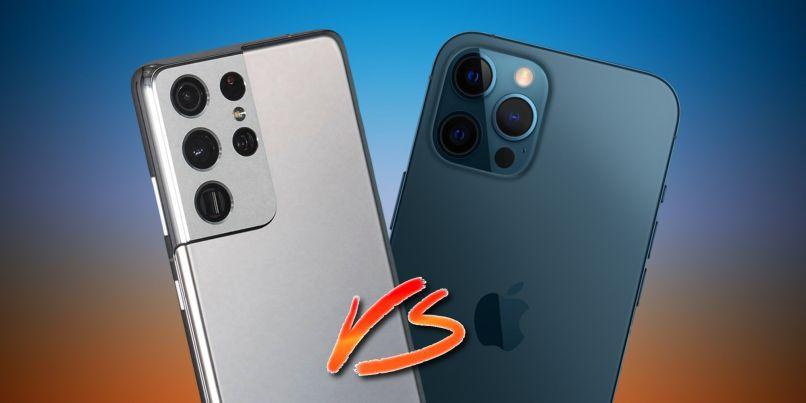 Samsung-Galaxy-S21-Ultra-Vs-Apple-iPhone-12-Pro-Max-Smartphonegreece