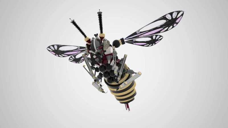 insect drones Smartphonegreece